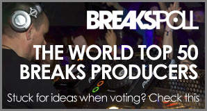 The top 50 Breaks Producers in the World