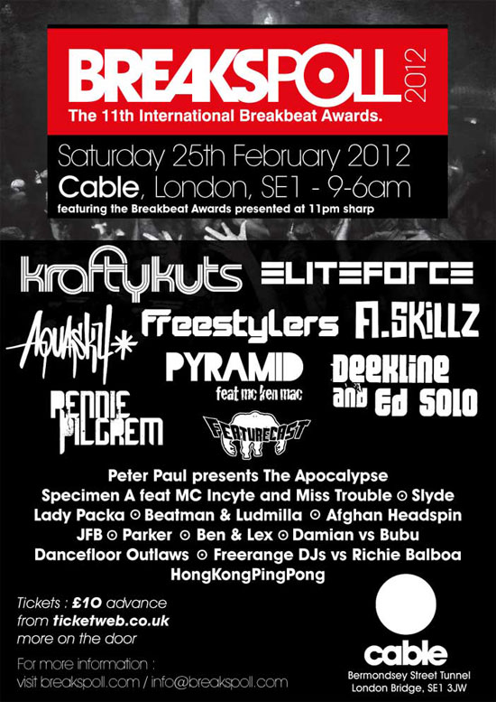 Breakspoll 2012 Flyer